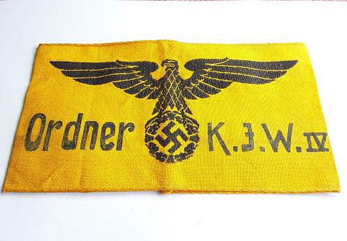 State Workers Armband