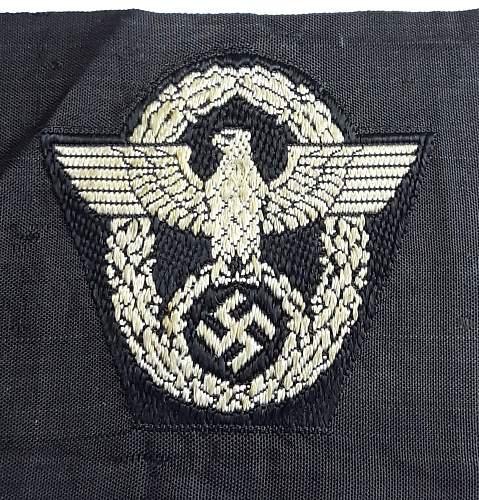 Field Police Cap Eagle