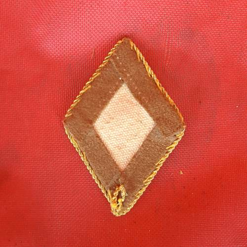 Political Auslands Org. Sleeve Diamond.....