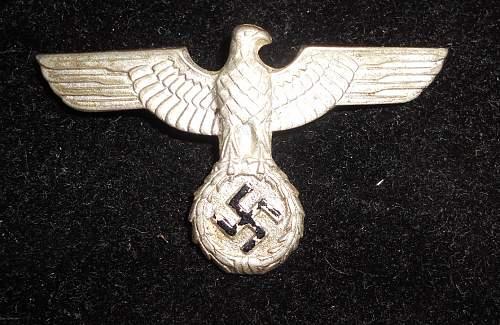 Political eagle?