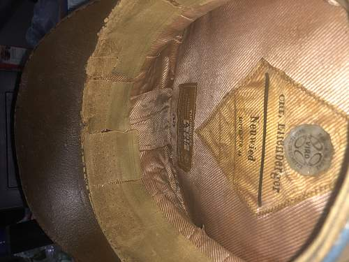 Is this an Authentic? (NSDAP Ortsgruppe Peaked Cap)
