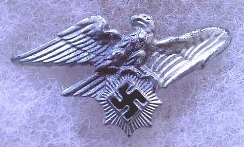 Reichs Luftschutz Bund abzeichen