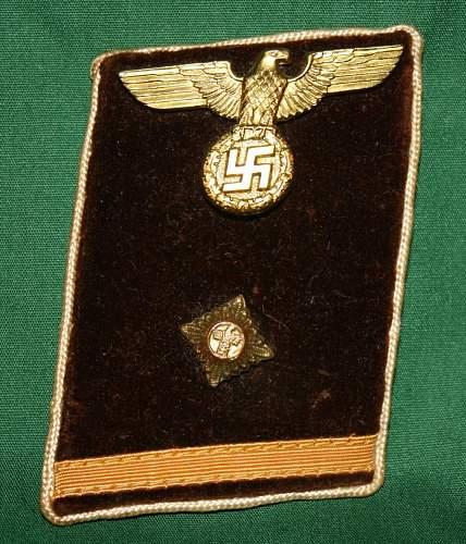 Collar tab and Eagle