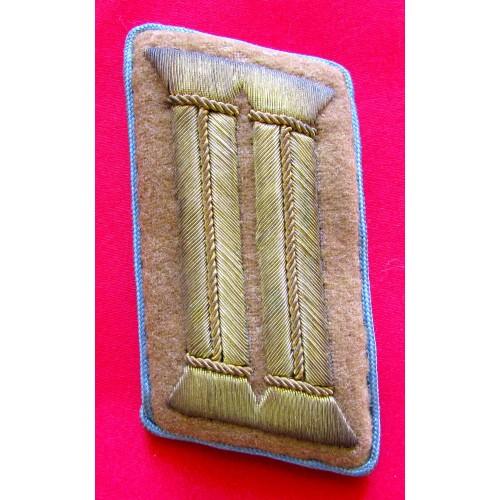 NSDAP 3rd Pattern Ortsgruppenleiter Collar Tab