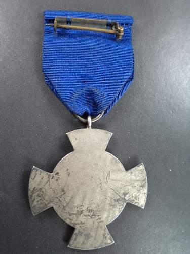 Danzing silber medal