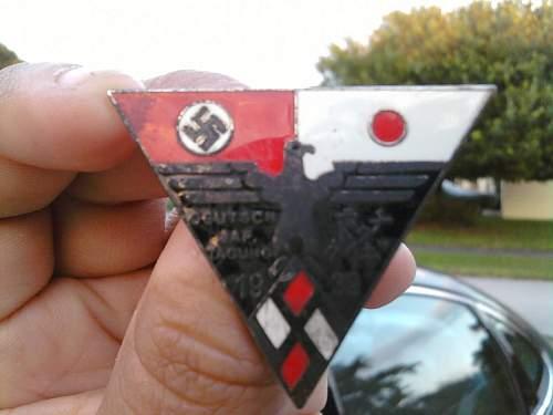 German Japanese pin