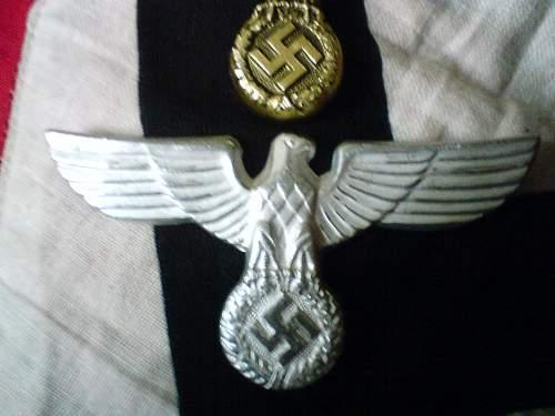 Nsdap Political Leader Eagle in gold