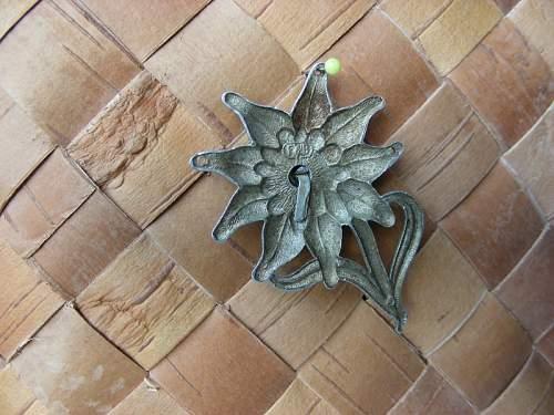 Edelweiss insignia