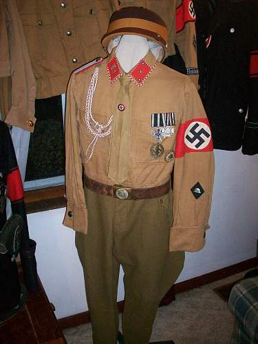 Click image for larger version.  Name:SA HO Brownshirt with armband and medals. (1).jpg Views:141 Size:250.2 KB ID:153855