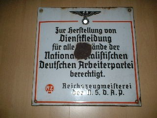 RZM Marks of the NSDAP