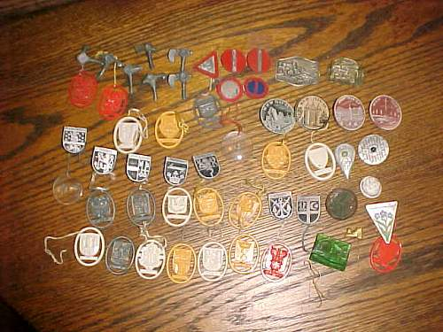 Pile of plastic town stuff