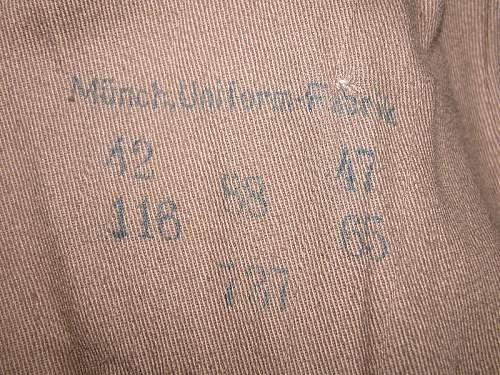 Labor Service Mantel 1937 or???