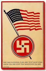Swastika on churchyard fence in Scotland? (help needed)