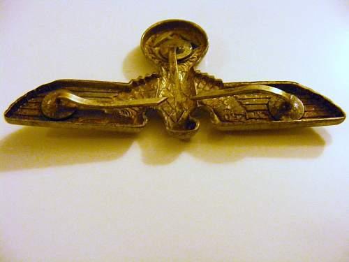 Cap Eagle 3 Prong RZM M1/50