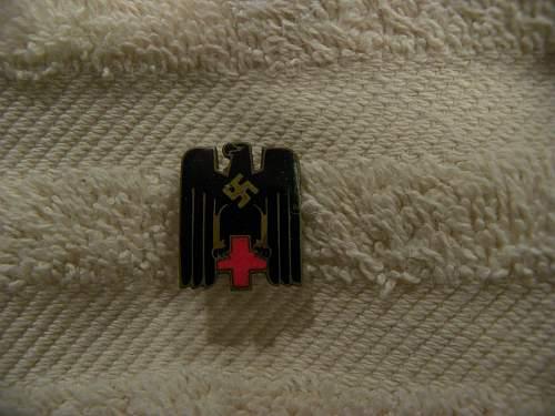 My new DRK pin