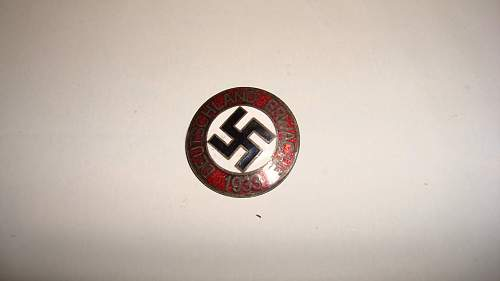 Are these DAF and NSDAP pins legit?