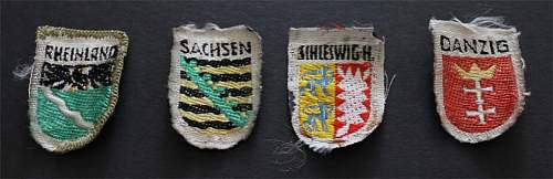 Small Coat of Arms Patches - What Are They?