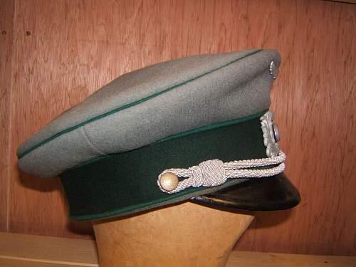 Re: Custom Officers Tunic & Cap