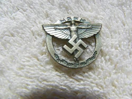 NSFK pins look ok?