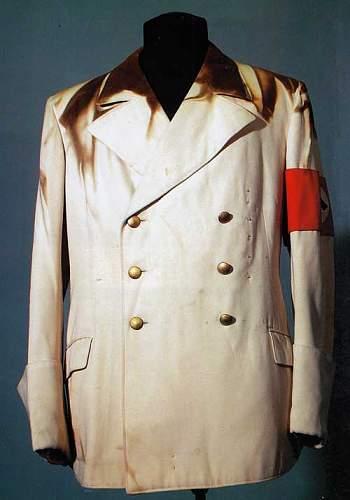 Hitler's summer tunics