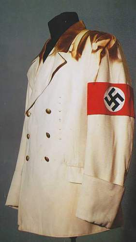Hitler's summer tunics