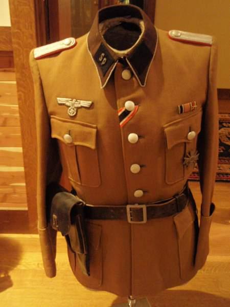 Transport Gruppe Todt & Speer Uniforms