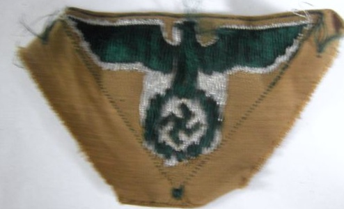 Third reich eagle patch, real or fake???