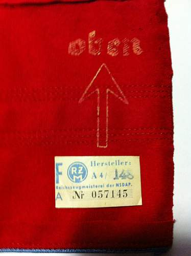 Ortsgruppenleiter armband: Should I have this restored?
