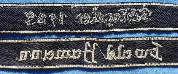 Two Unknown Cuff Titles