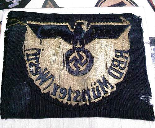 Click image for larger version.  Name:2) Reichbahn Arm Patch reverse..jpg Views:144 Size:154.6 KB ID:254494