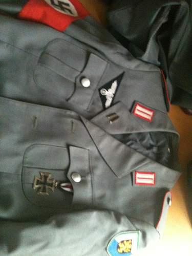 Tunic with armband and visor!!! NEED HELP!