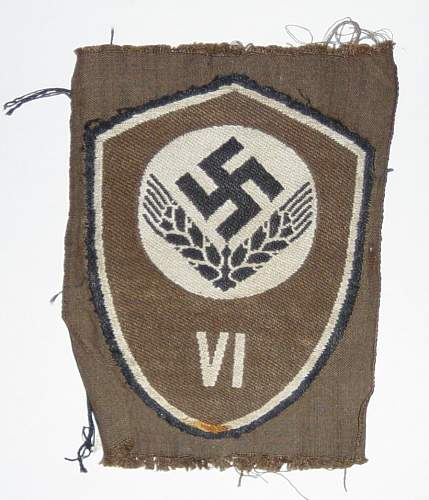 Womans RAD Unit Badge - Any information Please