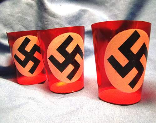 NSDAP Funeral candle holders