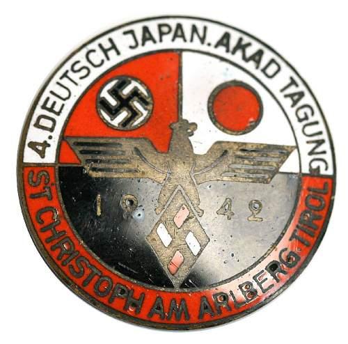 German-Japanese Visit Badge: Opinions Please
