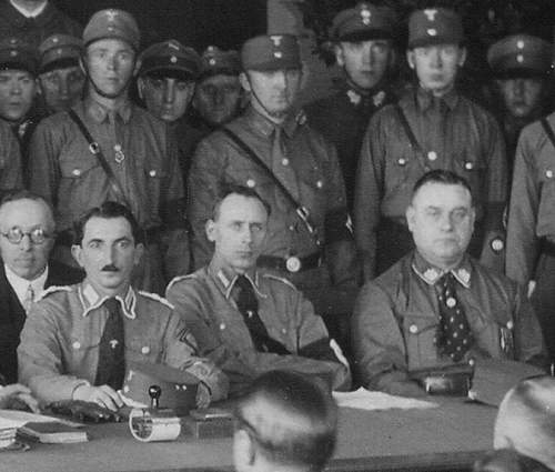 Rare period photo from 1933 - Honorary citizenship of Hitler and Hindenburg