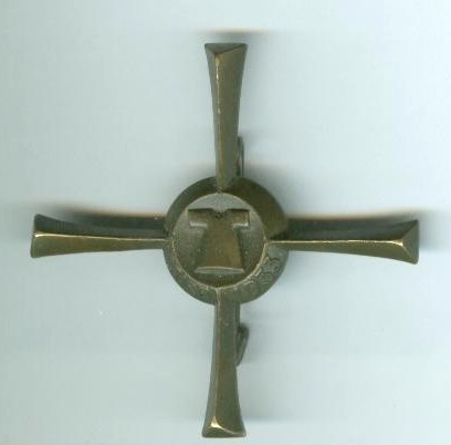 What was this Trier pin issued for?