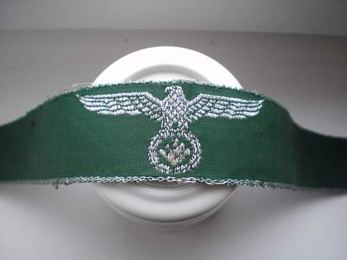 WW II Germany cuff band? What is it?