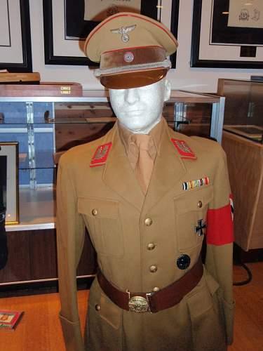 Uniform Of Gauleiter Robert Wagner