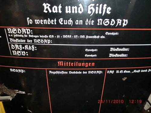 Help identifying German enamel sign