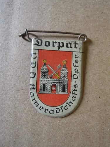 VDA donation badges