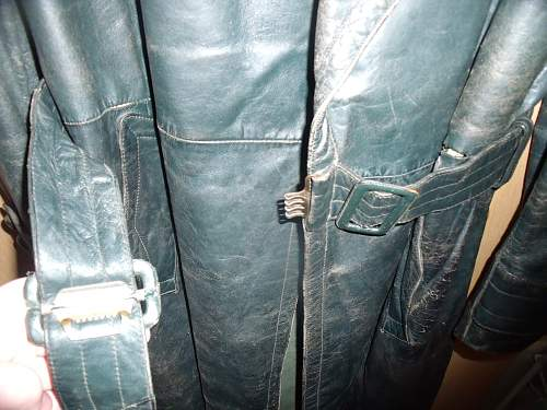 Leather Great Coat