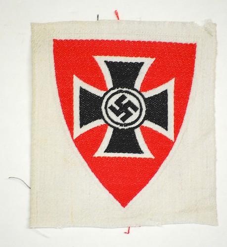 WWII German NS-RKB Veteran's Armband Insignia - help please!