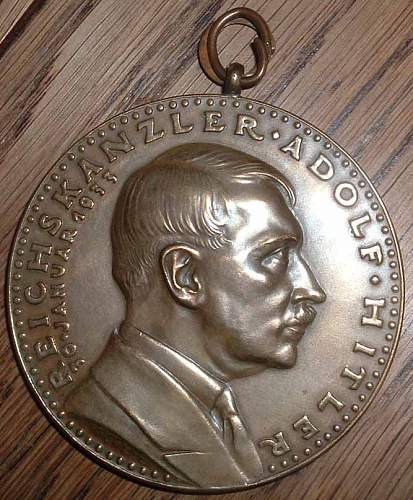 Large Unknown Commemorative SA Medal