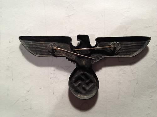 Eagle Hat Badge
