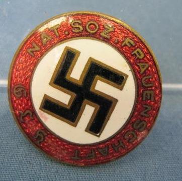 Early Frauenschaft party badge