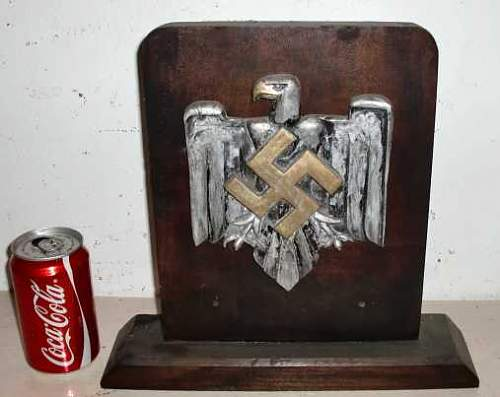 What is this Nazi Award Plaque?