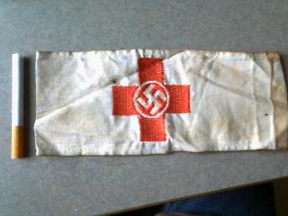 Deutsches Rotes Kreuz Armband-Scarcer Type?