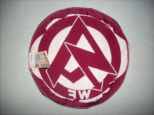 SA Sports vest patch opinions please