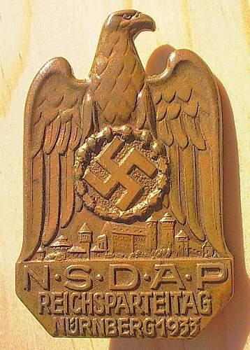 1933 Reichsparteitag abziechen