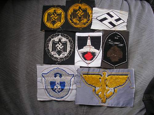 help are these insignia patches repros??
